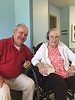 May 17, 2015 - (Missouri Veteran's Home / Bellefontaine Neighbors, Saint Louis County, Missouri) -- David and Vera