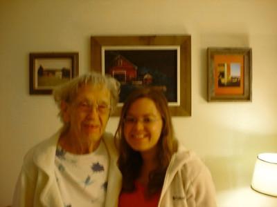 October 28, 2009 - (Gambrill Gardens / Ellisville, Saint Louis County, Missouri) -- Vera & Liisa moving Grammie into her new Missouri home