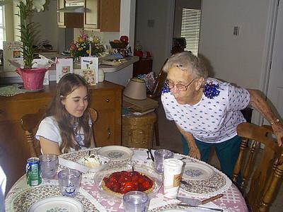 April 15, 2000 - (Birthdays / Summerville, Dorchester County, South Carolina) -- Liisa & Vera Celebrate their Birthdays