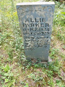 My great great grandmother, Catherine Alsia Ford (1838-1925), Old Liberty Cemetery, Christian County, Kentucky