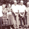Mollie Bett and John Wesley King children 1960.<br /> They are from left to right:  Leggitt Pershing King, Eva Louise King, Mary Susie King,<br /> Carl Bradshear King, Charlie Lee King, and Effie King. <br /> Submitted by Aundrea Saunders.