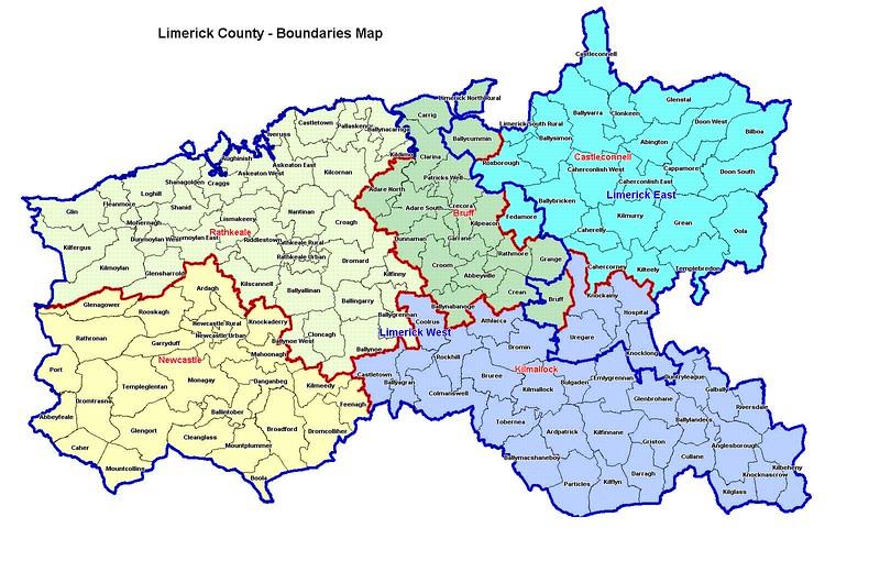 parish map ireland