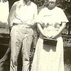 Harold McKenzie and sister Charlotte, 1930 Brazil, IN
