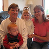 The kids, Grandma Donath and Becky