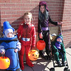 The kids at Halloween