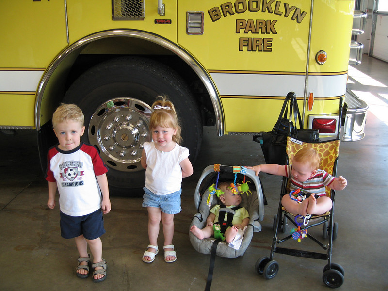 BP Fire Station tour