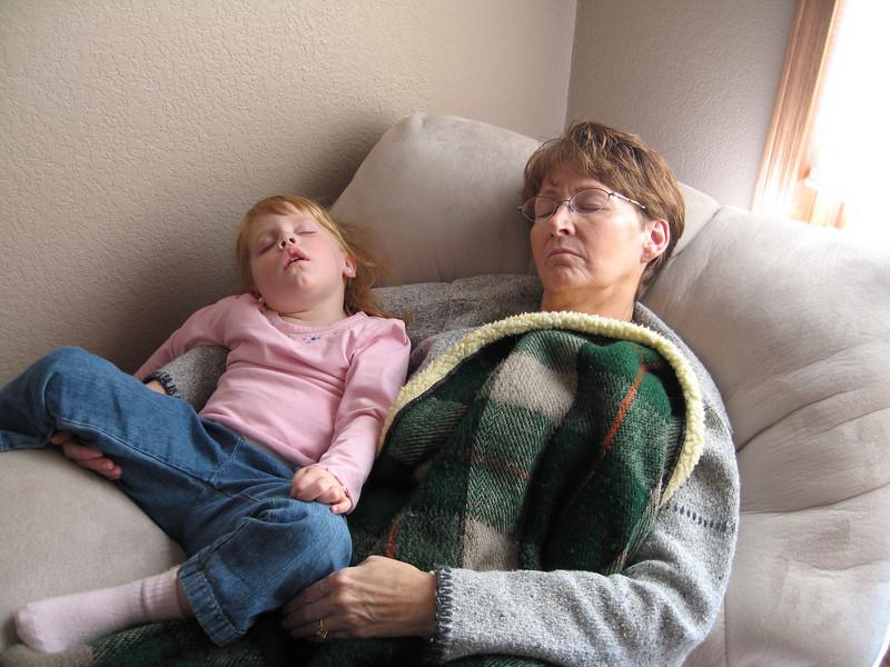 Katie and Grandma Titus