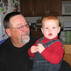 Matthew and Grandpa Titus
