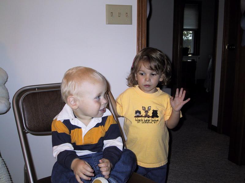 Cousins <br /> Hayden and Sarah