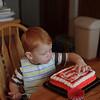 Tasting the frosting <br /> Matthew's 2nd birthday