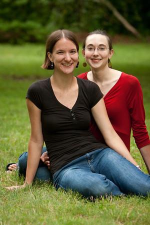 Gennie and Rachel