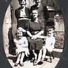 Rhoda Barbara Cecil Martha Richard 323 Burnley Road c1943