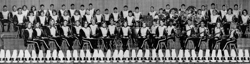 1968 Franklin H S  Band