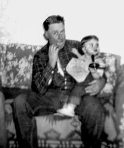 Eugene holding Bill