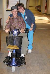 dad with nurse