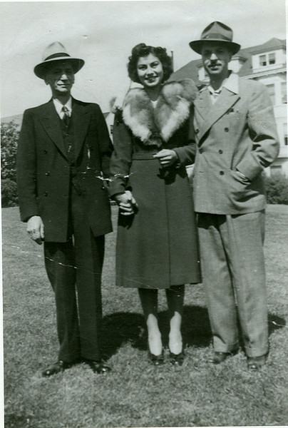 George Pagonis; His Grandniece Georgia; His Nephew; Milton Post (nee Protopappas)