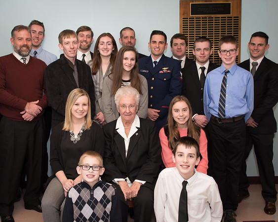 Judy and Grandchildren