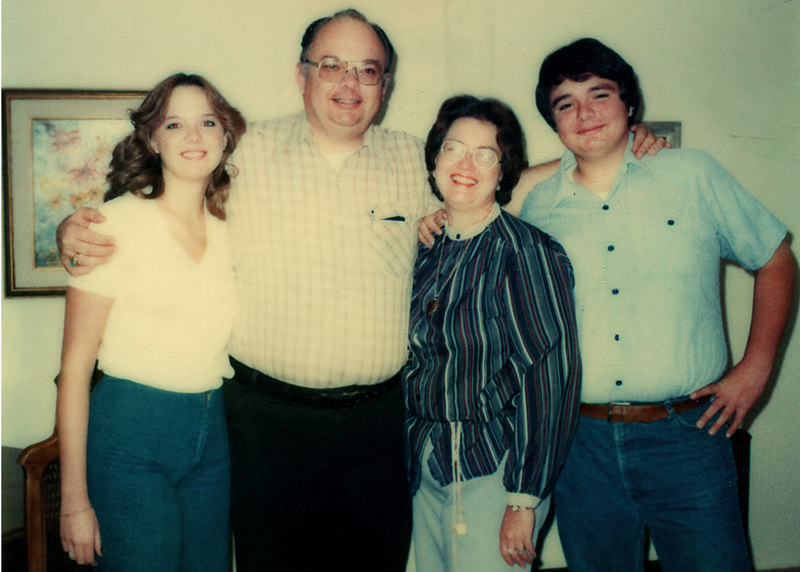 mom, dad, eileen and bill