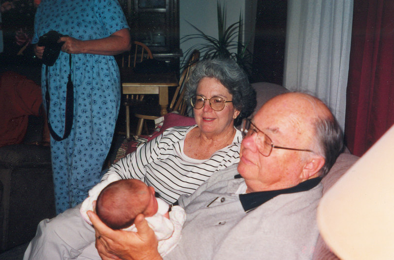 Dad with Caroline