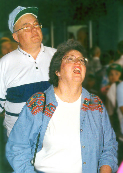 Disneyworld 93 dad and mom