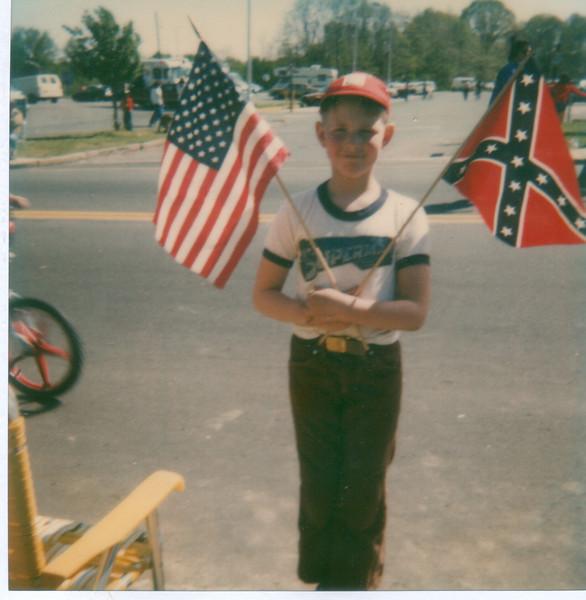 Stan at the parade