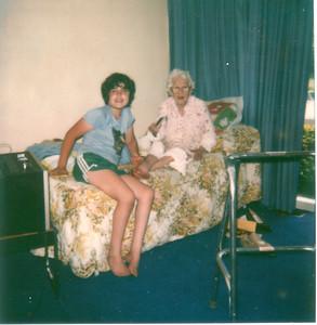 George and grandma Maime