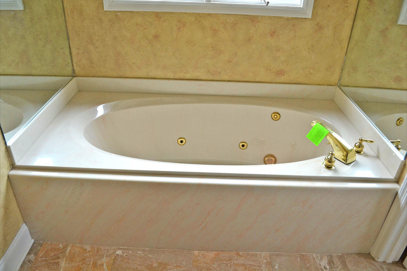 The bathtub. I'm anxious to try it out!