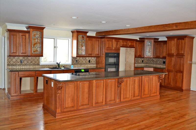 The kitchen needs a few cabinets fixed up, but overall looks fantastic.