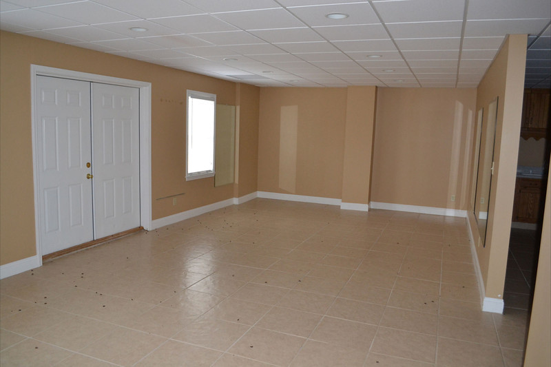 The basement has so much room!