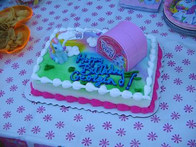 Georgia's 3rd Birthday
