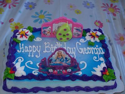 Georgia's 6th Birthday
