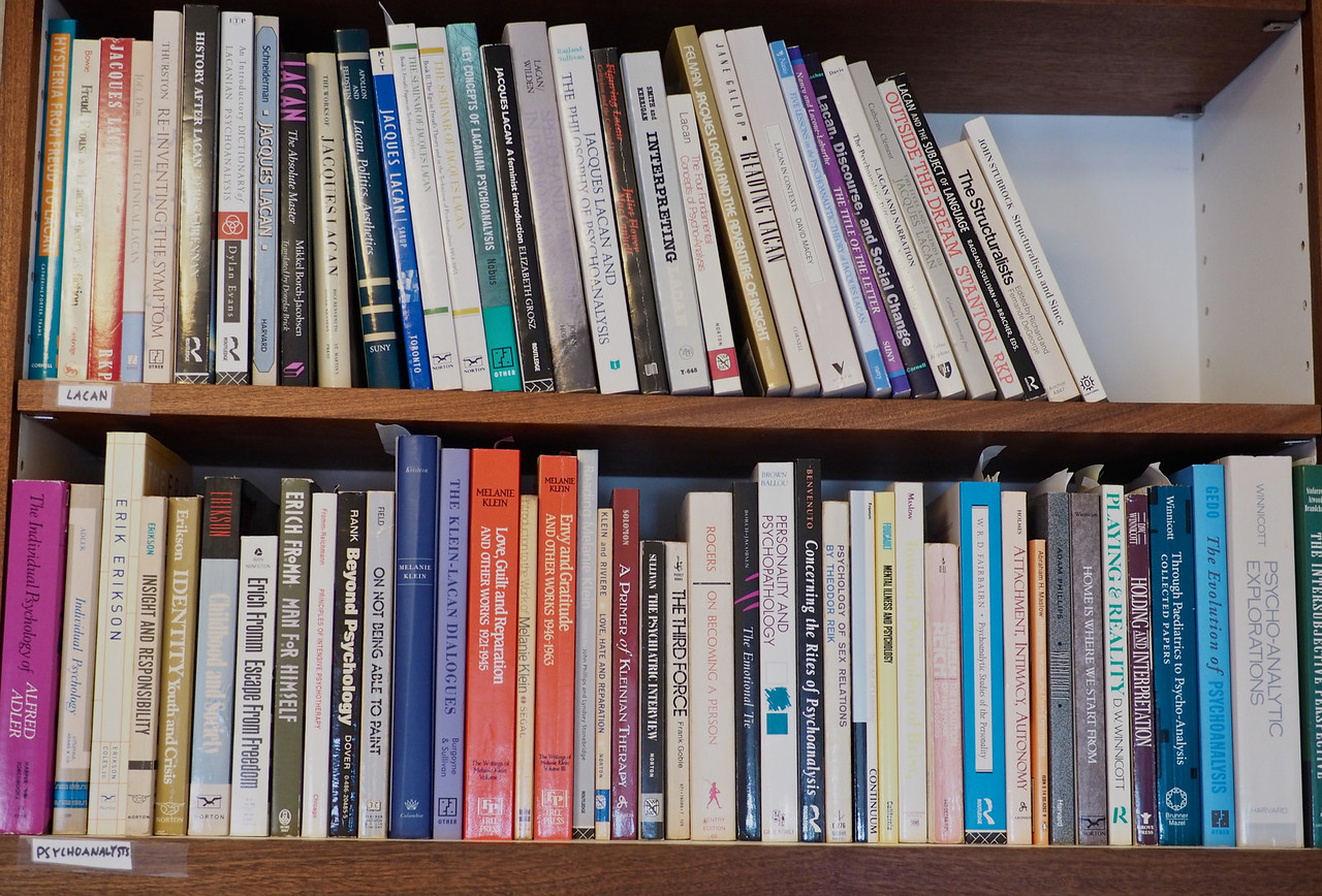 Psychoanalysts: Lacan, Adler, Erikson, Fromm, etc.