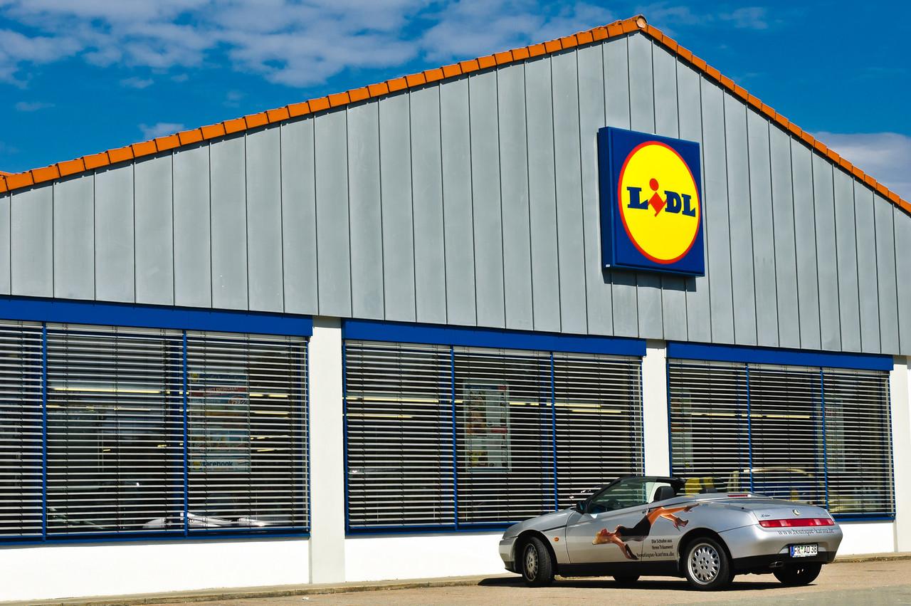 Lidl shop