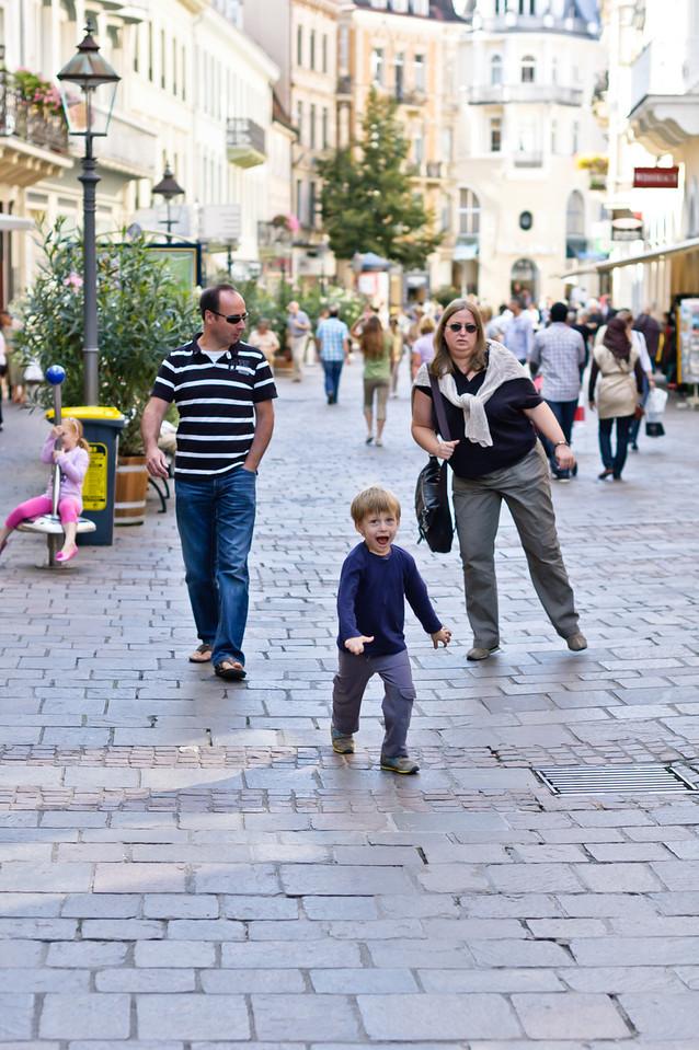 On streets of Baden-Baden
