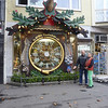Checking out the largest cuckoo clock in the world