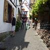 Wandering the narrow streets