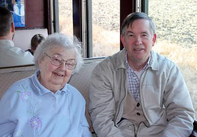 Grandma Betty Moyes memorial service