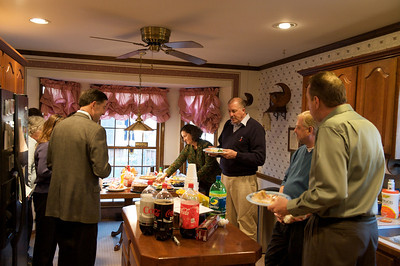 Get together after Bill's funeral