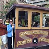 Rich Dowd and Audrey on San Francisco Cable Car