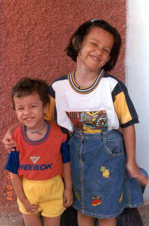 Ananya and Saksham - My niece and nephew