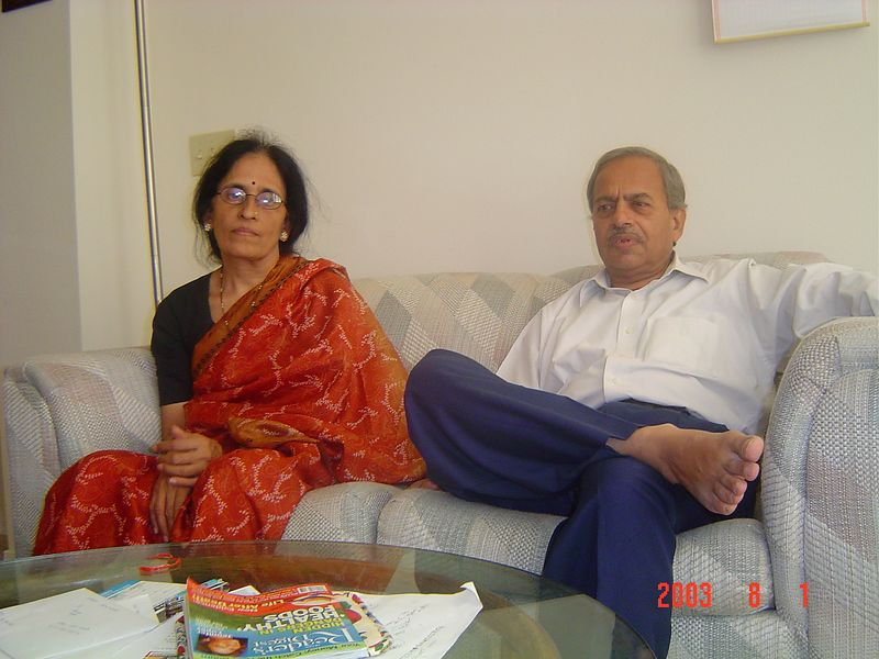 Aai - Baba (My Parents)