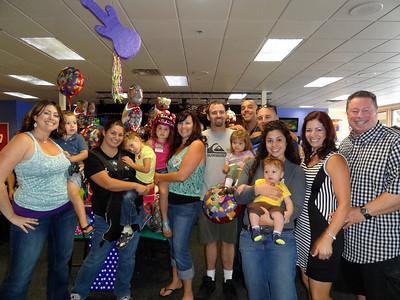 Gianna 5th Birthday Celebration, Poway CA June 8, 2013