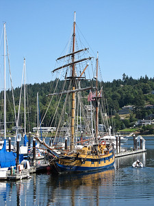 A Tall Ship in Gig Harbor