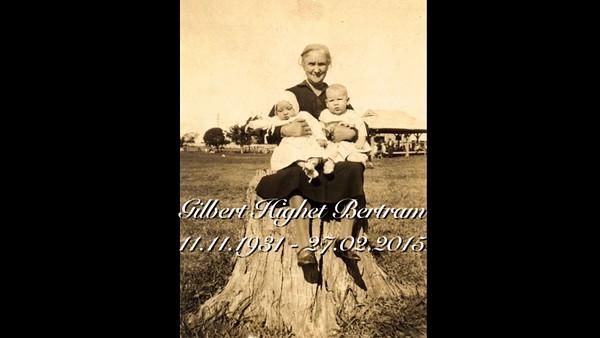 Gilbert Highet Bertram 11/11/1931 to 27/02/2015