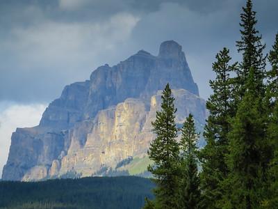 Castle Mountain.