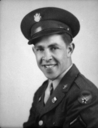 Gil in his Army Air Corps uniform circa 1943.