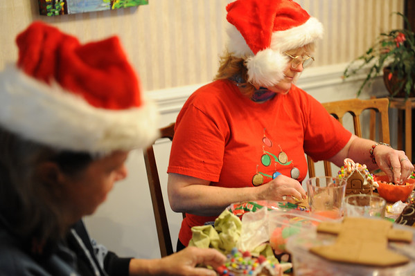 Gingerbread Houses '09!