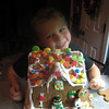 Conner's gingerbread house.