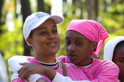 Marteen and Karen sharing a mother-daughter moment.