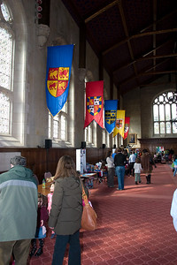 The hall at Bryn Mawr College.